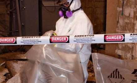 Asbestos is an environmental hazard.